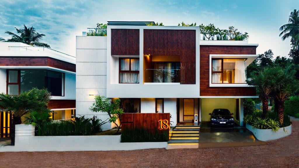 Luxury villas in the trivandrum